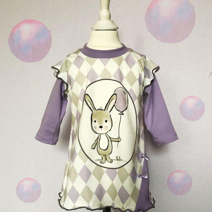 Kleid mit Hase
