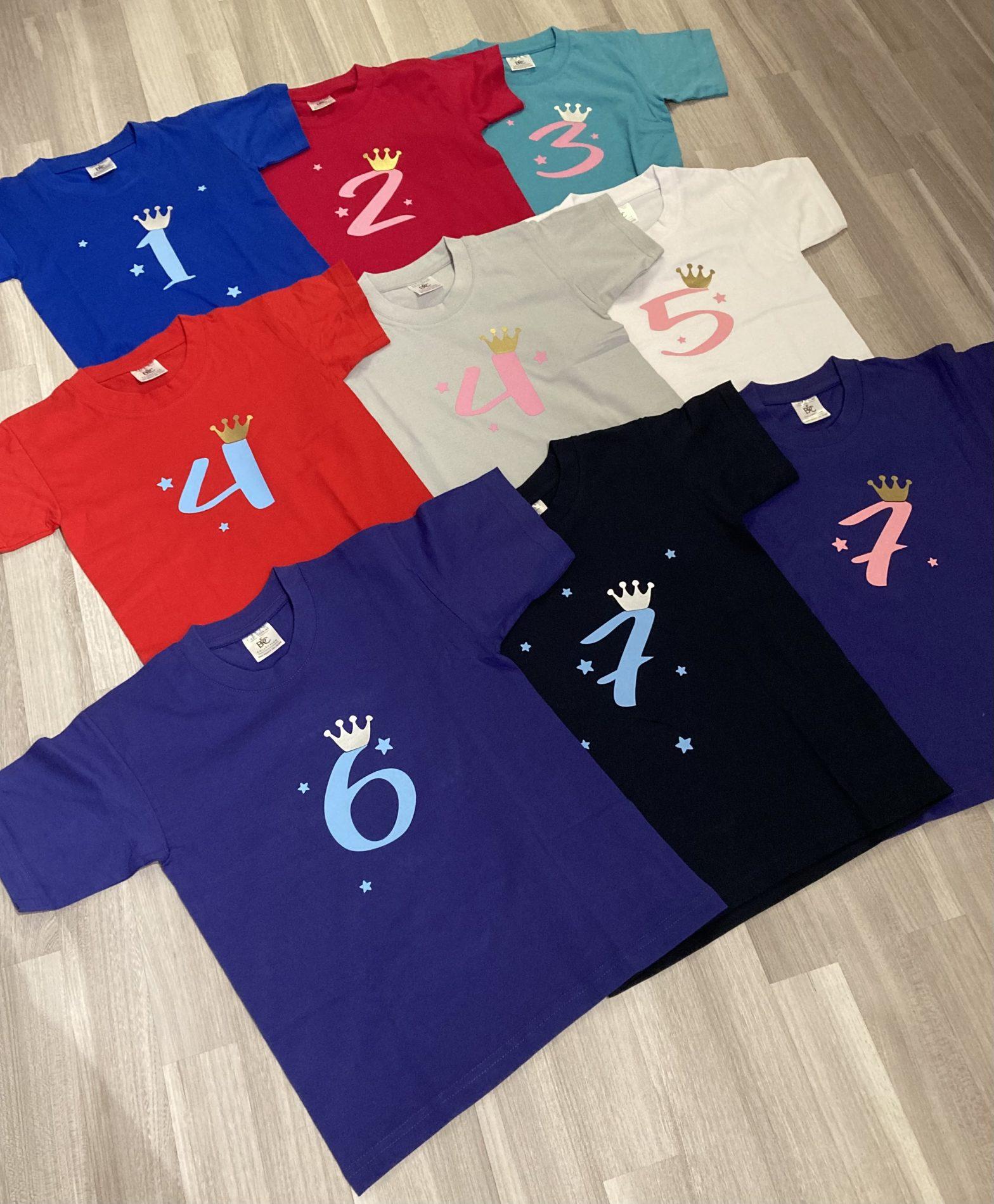 Geburtstags-T-Shirts