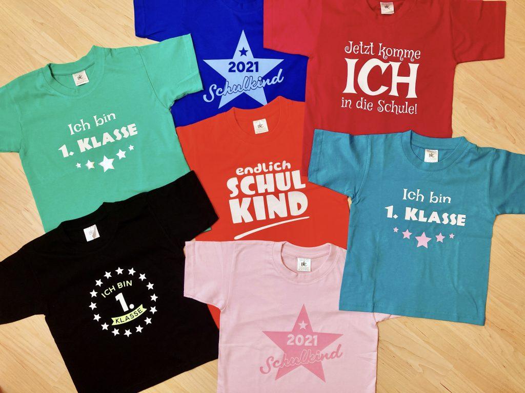 Einschulungs-T-Shirts